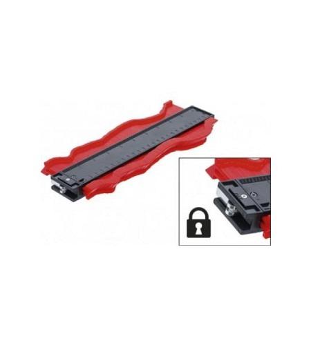 Konturenlehre | 250 mm | verriegelbar